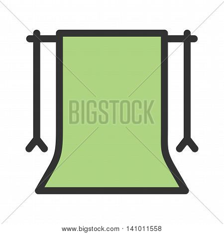 Camera, back, stand icon vector image. Can also be used for photography. Suitable for use on web apps, mobile apps and print media.
