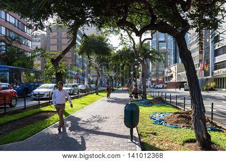 Downtown Miraflores, Lima