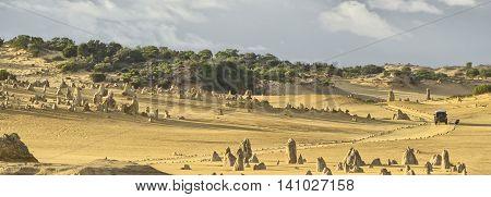 Pinnacle Desert Panorama