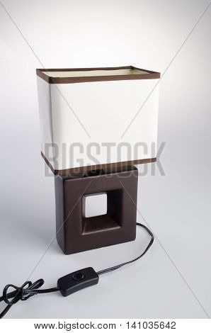 Table Lamp. Table Lamp On Background. Table Lamp On A Background.
