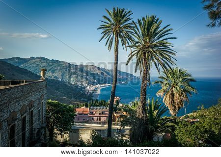 View From Taormina, Sicily
