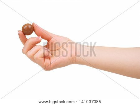 candy chocolate isolated on a white background