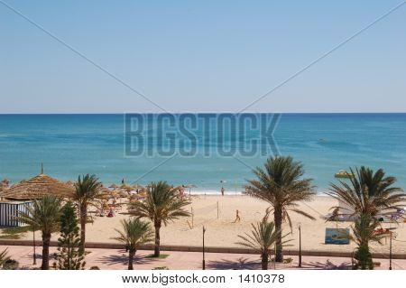 Hammamet Beach Tunisie