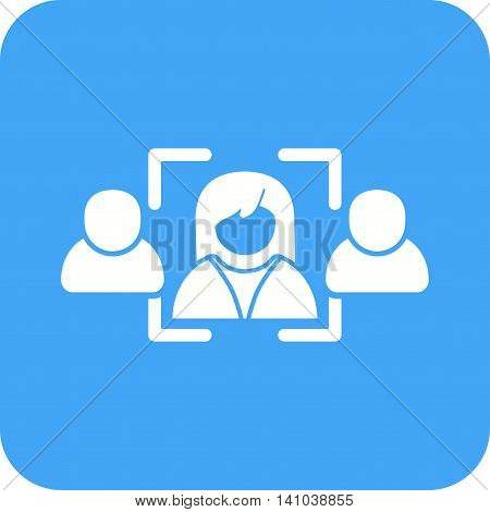 Hiring, candidate, job icon vector image. Can also be used for employment. Suitable for use on web apps, mobile apps and print media.