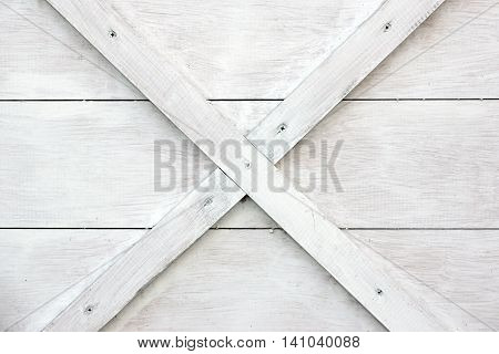 Modern White Wooden Box Front Side Background
