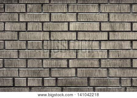 Modern White Brick Wall Grunge Background Texture