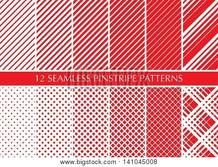 Diagonal lines pattern. Repeat straight stripes texture background.