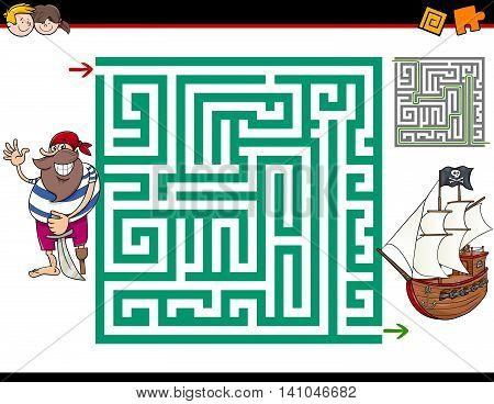 Maze Activity Game