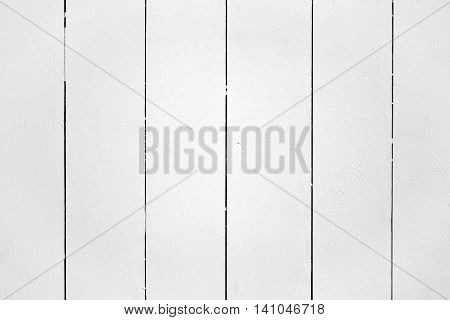Flat White Wood Wall Board Plank Panel Background Texture
