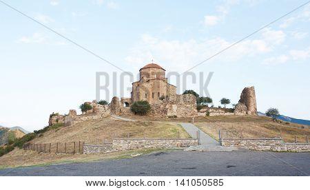 Jvari is a Georgian Orthodox monastery of the 6th century near Mtskheta - most famous symbol of georgiam christianity