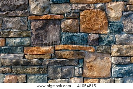 photo of a brick wall on a building in portland me. background