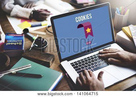 Website Browser Internet Communication Concept