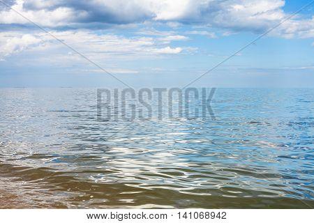Waterfront Of Azov Sea