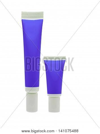 Purple Cosmetic Tube