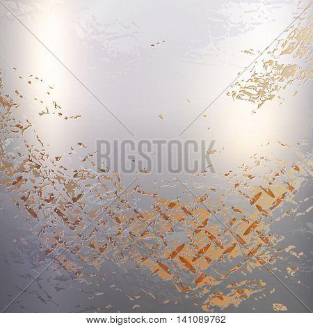 Vector - rusty texture metal material background