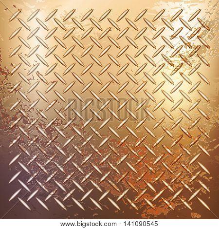 Vector - rusty metal material texture background