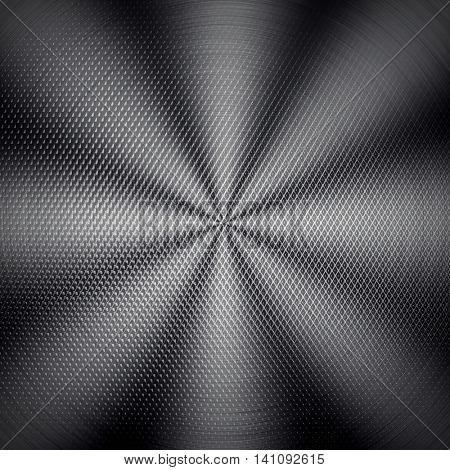 metal mesh with star light background