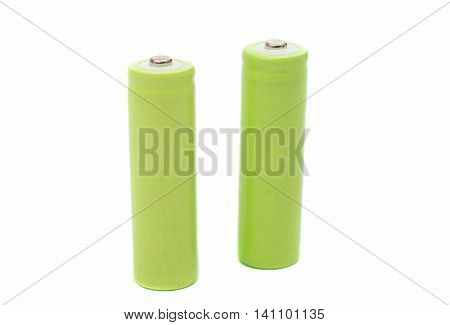 battery recharge, electricity on a white background