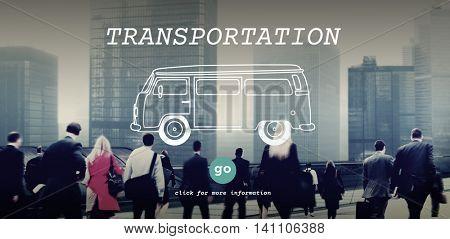 Transportation Transport Travel Trip Tour Concept