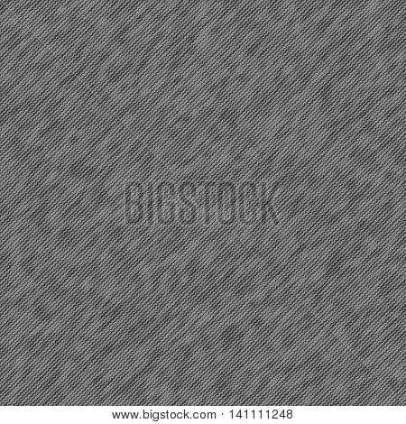 Texture seamless denim clothes gray vector background