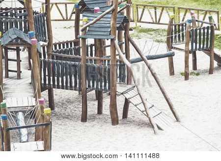 Children Kid Playground For Leisure And Recreation Activity