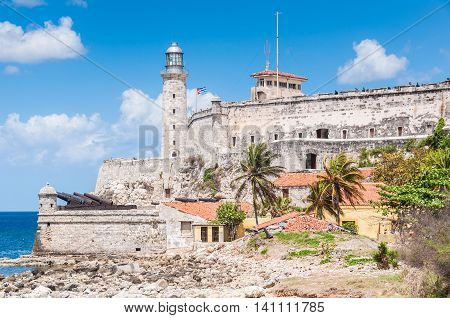 Morro Castle From Close Range, Havana, Cuba