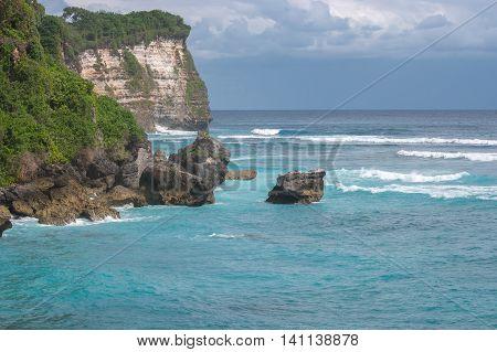 Beautiful View Of Blue Ocean.