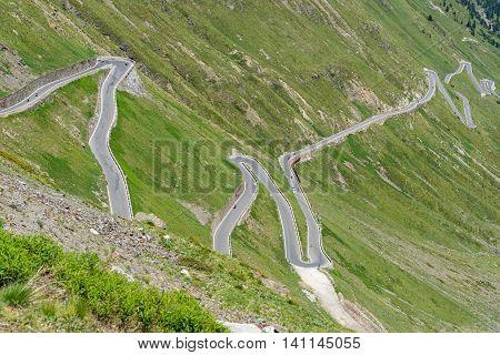 Mountains Alps Passo Stelvio