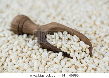 Puffed Rice (for Use As Background Image)