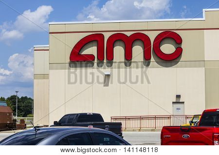 Indianapolis - Circa July 2016: AMC Movie Theater Location. AMC Theaters is an American Movie Theater Chain V