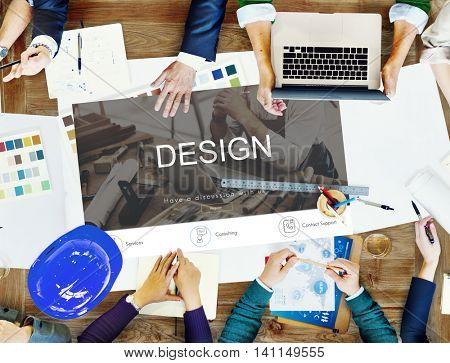 Renovation Repair Construction Design Website Concept