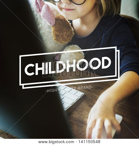 Childhood Infancy Kids Offspring Young Youth Concept
