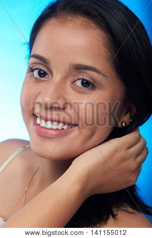 Headshot Of Pretty Hispanic Girl
