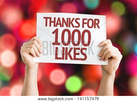 Thanks For 1000 Likes