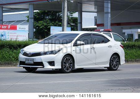 Private Car, Toyota Corolla Altis.