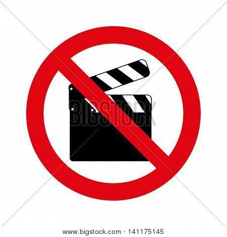 denied circle red prohibited icon vector illustration design