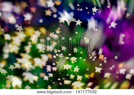 abstract texture, light bokeh background. Christmas background. Elegant abstract background