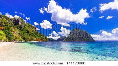 beauty in nature - impressive tropical islands, Philippines, Palawan