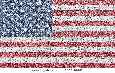 Flag On Poppy Seed