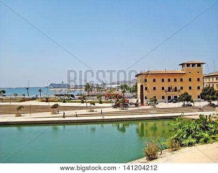 Harbor Palma De Majorca, Baleares, Spain