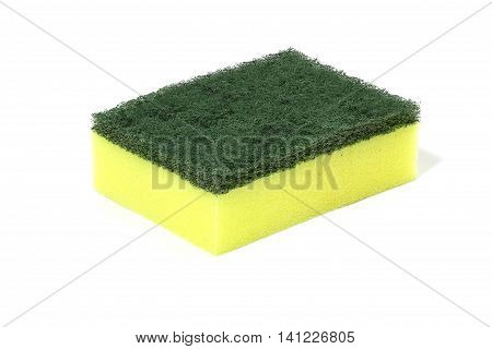 green nylon fibers wool cleaners detergents household cleaning sponge for cleaning