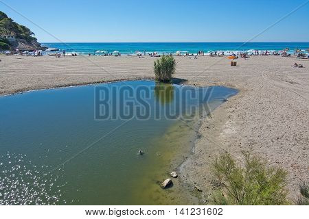 Canyamel River Wetlands And Sandy Beach