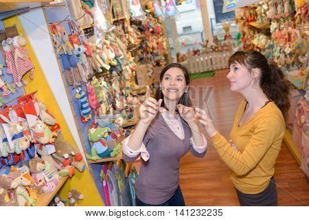 gravidity - shopping toys