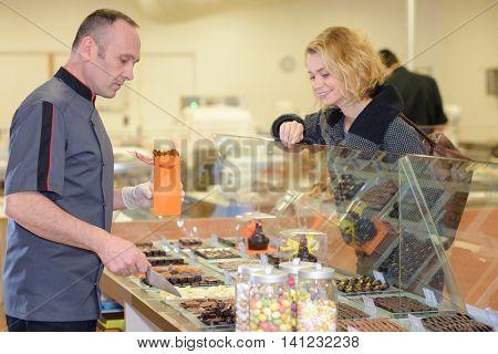 confectionery shop