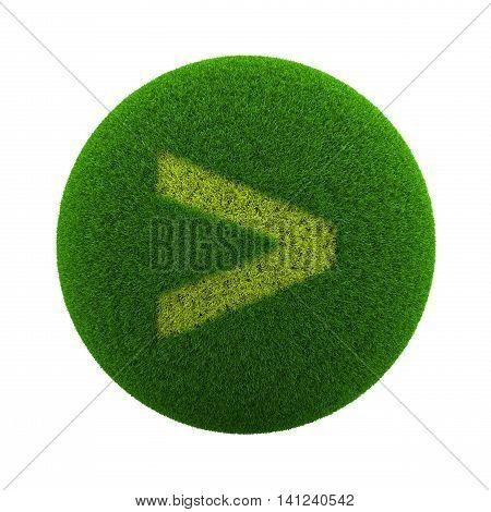 Grass Sphere Major Symbol Icon