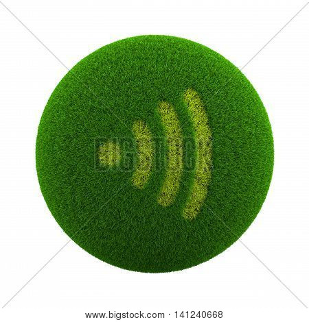 Grass Sphere Audio Icon