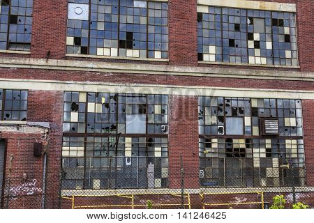 Urban Blight IV - Abandoned Factory - Worn Broken and Forgotten VI