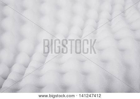 A large and beautiful white pillow texture detail