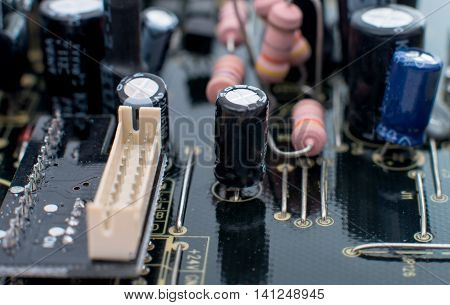 electronic circuit board  electrical, electronics, equipment close-up