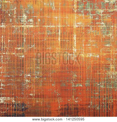Grunge background for a creative vintage style poster. With different color patterns: yellow (beige); brown; gray; red (orange)